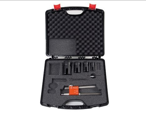 Stutzenschälgerät PES 63 Set von d 32 - d 63 SDR 11