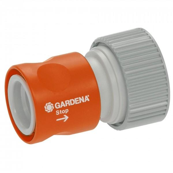 """GARDENA Profi-System-Übergangsstück mit Wasserstop 19 mm (3/4"""")"""