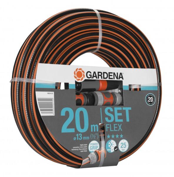 """GARDENA Comfort FLEX Schlauch, 13 mm (1/2""""), 20 m, mit Systemteilen"""