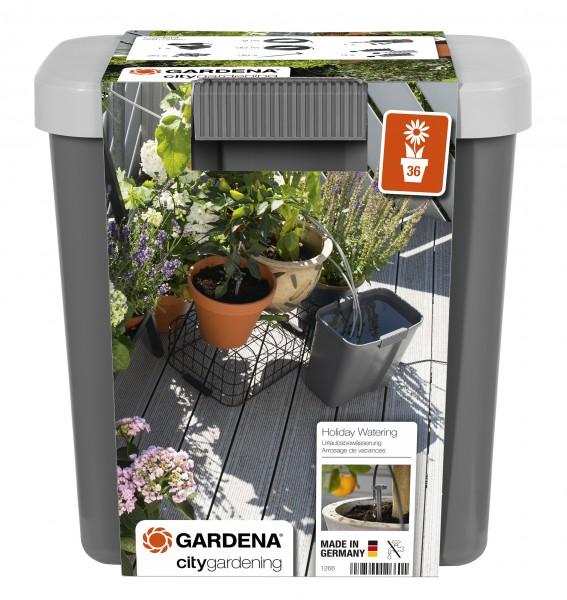 GARDENA City Gardening Urlaubsbewässerung-Set mit Vorratsbehälter